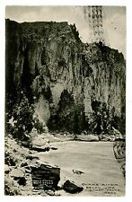Twin Falls Idaho Id -Snake River Below Shoshone Falls- Postcard