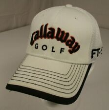 Callaway New Era Golf Mens Osfa White Mesh Hat Adjustable Buckle Hx Tour