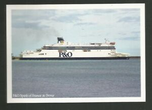 P & O Spirit of France Ferry at Dover Postcard