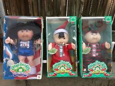 3 Cabbage Patch Olympikid Asian Holiday Baby Reindeer Horns NIB Dolls