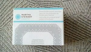 Martha Stewart - Diamond lattice frame border punch Cartridge