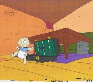 Rugrats Original 1990's Production Cel Animation Art Nickelodeon Money