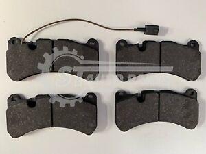 FOR MASERATI GHIBLI M157 3.0 2013- FRONT BRAKE PADS &Sensor Single Brake Caliper