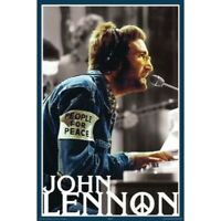 "JOHN LENNON POSTER - PEOPLE FOR PEACE - BEATLES - 91 x 61 cm 36"" x 24"""