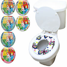 Kid Toddler Child Girl Boy Soft Padded Toilet Ring Training Trainer Seat