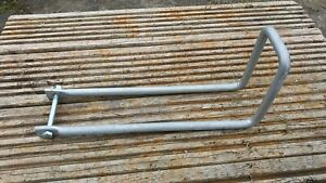 """Throw over loop galvanised for 2"""" wide double garden entrance estate field gate"""