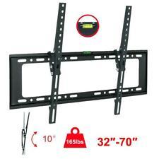 LCD LED Plasma Flat Tilt 10°TV Wall Mount Bracket 32 42 50 55 60 65 70