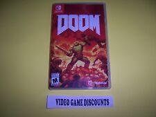 Original Box Case Replacement Nintendo Switch Doom