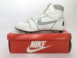 vintage nike open field high top football cleats shoes men's size 10 NIB 1987 🏈