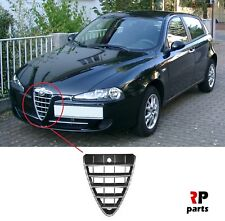 FOR ALFA ROMEO 147 2006-2010 NEW FRONT BUMPER CENTER GRILLE SILVER 156075731