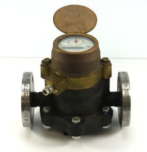 Hersey Wasserzähler DN 25,  DIN 2527, PN 16   RSt 37-2 57483 B