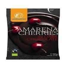 Landgarten Orgnaic Cherries in Dark Chocolate 50g x 10
