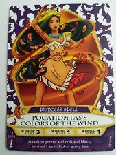 Disney SOTMK Sorcerers Of Magic Kingdom Pocahontas's Colors of the Wind #51/70