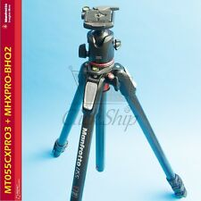 Manfrotto MT055CXPRO3 Carbon Fiber Tripod with MHXPRO-BHQ2 XPRO Ball Head