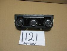 2011 - 2012 Volkswagen Golf AC and Heater Control Used Stock #1121-AC