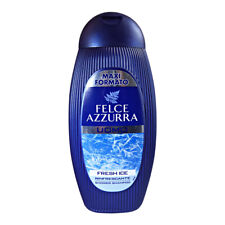 Felce Azzurra Men Shampoo and Shower Fresh Ice 400ml 13.53 fl oz