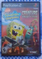 Spongebob Creature from the Krusty Krab -  PlayStation 2 PS2 Complete Game Works