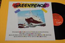 QUEEN PETER GABRIEL DEPECHE MODE..LP GREENPEACE ORIG ITALY 1985 NM ! MAI SUONATO