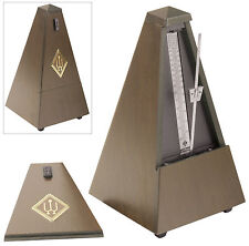 Wittner Traditional Metronome: Walnut Finished Wood