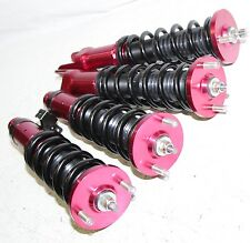 Coilover Suspension Kits Damper for1992-2000 Honda Civic RED