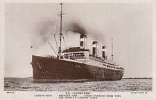 Rppc S.S. Leviathan worlds largest liner 5815