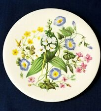 Wildflowers of Southern America Decorative Plate Enoch Wedgwood England Avon