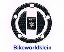 Protection de Bouchon de Reservoir Carbone GSXR Bandit SV Suzuki Fuel Cap Trim