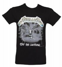 Metallica - Ride The Lightning T-shirt Black Medium Tshirt
