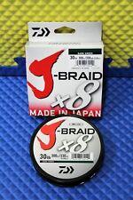 Daiwa J-Braid x8U 30-300DG Dark Green 30lb 330yd 14690788
