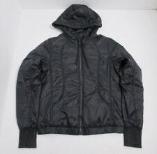 Lululemon Women's Scuba Hoodie *Glyde PrimaLoft Color Black Size 8 Full Zip