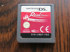 Real Stories Mission Equitation Jeu Vidéo Nintendo DS