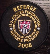 2008 UNITED STATES SOCCER FEDERATION REFEREE PATCH