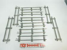 BK335-1 #10x Märklin Escala 0 vía / Piezas de vía Recto (26 Cm) para