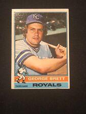 1976 Topps George Brett #19 EX+ Kansas City Royals HOF *18