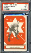 1933 OPC SERIES 'A' #39 CHING JOHNSON PSA 5.5