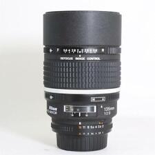 Nikon AF 135mm f2 DC Lente