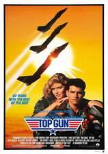 TOP GUN Movie POSTER 27x40 H Tom Cruise Kelly McGillis Val Kilmer Tom Skerritt