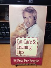 Cat Care & Training Tips Pets for People Purina 1994 VHS Factory Sealed NEW