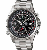 Casio EF527D-1AV, Edifice Watch, Stainless Steel Band, Date, Chronograph