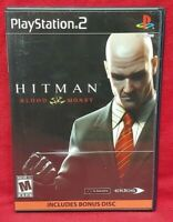 Hitman Blood Money -  PS2 Playstation 2 Game 1 Owner NEAR Mint Disc Complete