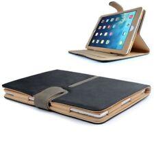 New 360 Rotation Suede Stand Case Cover For Apple iPad Mini / iPad Mini 2 Black