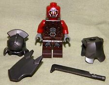 Lego URUK-KAI PLAIN ARMOR SWORD SHIELD Mini-Figure Loose 9471 Lord of the Rings