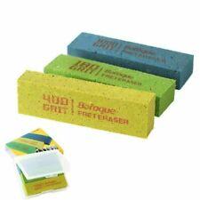 3PCs Guitar 180Grit &400 Grit &1000 Fret Polishing Erasers Rubber blocks Set Kit