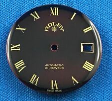 ROLBY Watch Dial Part 29.5mm -Automatic- 21 Jewels -Swiss Made- Date at 3  #A26