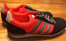 50c122ee1 Adidas Neo City Racer Bright Orange Classics Camouflage Bottoms Size 12.5 A+