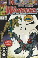 Marvel Comics The New Warriors Volume 1 Number 7 January 1991