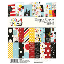 Simple Stories Say Cheese 4 Collection - 6 x 8 Paper Pad 10546