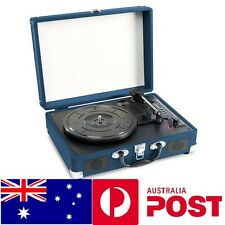 3 Speed Turntable Retro Record Player Rechargeable USB Encoding Birthday Gift