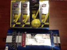 Wilson Staff Duo Golf Balls + Srixon All Weather Golf Glove