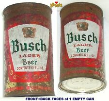 1954 BUSCH LAGER BEER CAN FANCY GOLD+RED ANHEUSER ST.LOUIS,MISSOURI MO. RESTORED